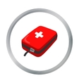 Medicine chest icon of for web vector image