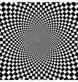 Retro Vintage Hypnotic Background vector image vector image