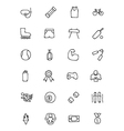 Sports Hand Drawn Doodle Icons 2 vector image vector image