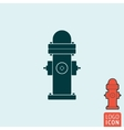 Fire hydrant icon isolated vector image