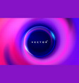 abstract fluid background in neon color vector image