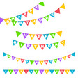 birthday party invitation banners vector image