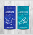 graduation party invitation card graduation party vector image vector image