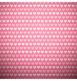 Heart shape seamless pattern tiling vector image vector image