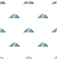 ice mountain all the cracksthe mountain from vector image vector image