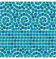 mosaic seaml 5 380 vector image vector image
