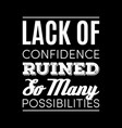 stylized retro-styled quote on coaching vector image