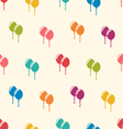 Seamless Pattern Multicolored Balloons for Happy vector image