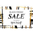 black friday super sale web banner vector image vector image