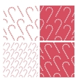 candy cane background patterns vector image