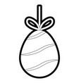 easter eggs design vector image vector image
