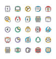 Finance Cool Icons 1 vector image vector image