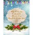 Merry Christmas Lettering Design EPS 10 vector image