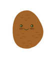 potato icon in flat style vector image vector image