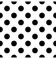 seamless polka dot pattern memphis group style vector image vector image