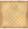 Vintage polka dots wallpaper vector image