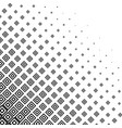 abstract monochrome halftone background vector image