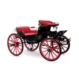 Chariot with red vector image vector image