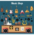 Music Shop vector image vector image