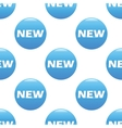 NEW sign pattern vector image vector image