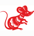 Rat mouse vector image vector image