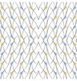 Seamless pattern of lines arcs and triangles vector image vector image