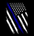 thin blue line flag - police officer - flag