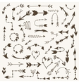 Tribal Arrow Signs vector image vector image