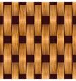 wooden blocks grid vector image vector image