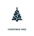 christmos tree icon premium style design from vector image vector image