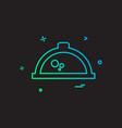 hot pot icon design vector image vector image