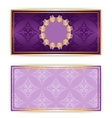 royal template luxury invitation vector image vector image