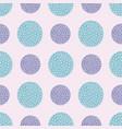 spotty circular repeat pattern vector image vector image