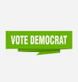 vote democrat vector image vector image