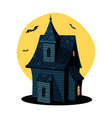 Cartoon Haunted House