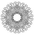 mandala ornamental design element ethnic vector image vector image