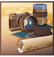 photos and travels vector image vector image