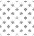 Target crosshair pattern simple style vector image vector image