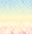 Abstract geometric mosaic pastel background vector image vector image