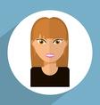 avatar female vector image vector image