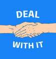 gestures arms stop palm thumbs up finger vector image vector image