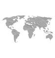 global atlas mosaic of key icons vector image vector image
