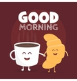 Good morning Funny cute vector image