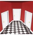 House Hallway vector image vector image