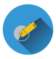Icon of grinder vector image