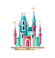 Magical castle Fabulous palace vector image vector image