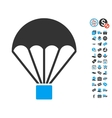 Parachute Icon With Free Bonus