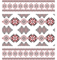Seamless ethnic pattern vector image