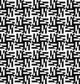 Seamless monochrome stripe pattern vector image vector image