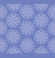 snow seamless pattern winter holiday snowflakes vector image vector image